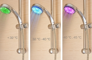 Original ducha con luz LED