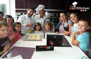 Taller navideño de cocina para niños