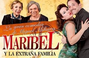 Maribel y la extraña familia, en Valencia