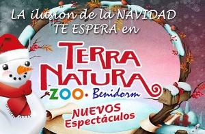 Navidad en Terra Natura Benidorm por 15€